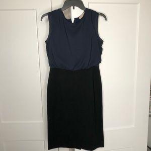 ANN TAYLOR LOFT Dress Blue Black
